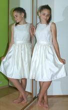 Slavnostní společenské saténové šaty, marks & spencer,164