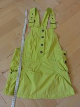 Zelené šaty, kenvelo,110