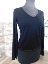 Bavlněné triko- dlouhý rukáv, benetton,m
