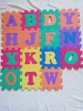 Pěnové puzzle písmena,