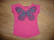 Tričko george s motýlem na 5-6l- vel.116, george,116