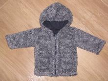 Teplý chlupatý kabátek, vl457, 62