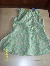 Zelenkavé šatičky, john lewis baby,80