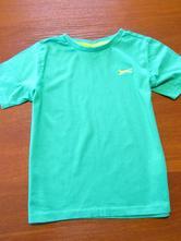 Jasně zelené triko vel 128-134, slazenger,134