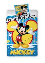 Dětské povlečení 140x200 mickey mouse blue, 140,200