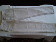 Jen 2x nošené pěkné bavl. elastické kalhoty, 40