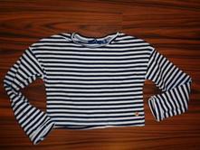 Luxusní modrobílé pruhované tričko tom tailor, tom tailor,92 / 98