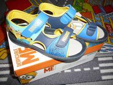 Sandálky minions (mimoň), humanic,30