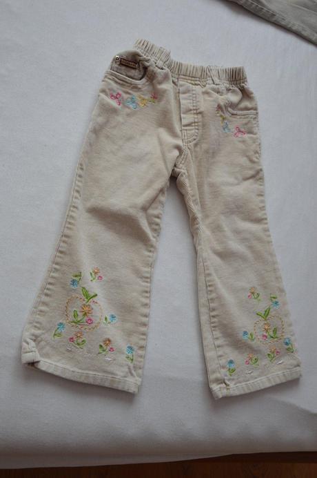 Manzestrove kalhoty, 98