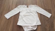 Bílé body-triko, pepco,74