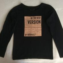 Bavlněné tričko s nápisem zn. primark, primark,146