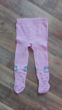 Růžové punčocháče se sovičkami vel.86, 86