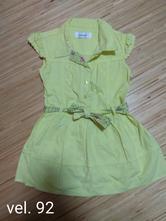 Žluté šaty vel. 92, early days,92