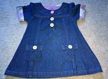 Riflové šaty, st. bernard,86