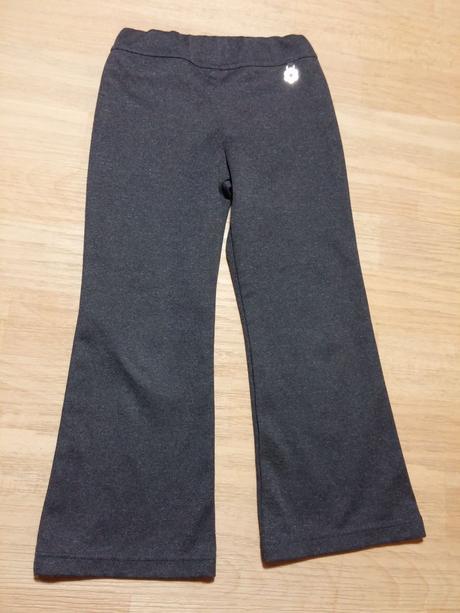 Kalhoty společenské šedé,kytka, next,110
