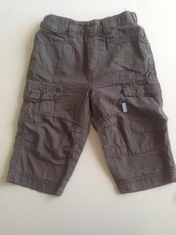 Kalhoty s podšívkou a regulací v pase, 74