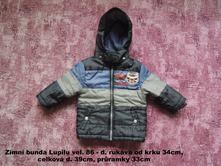 Zimní bunda lupilu vel. 86, lupilu,86