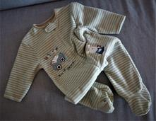 Fleesový overal, mothercare,80