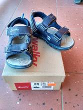Modré sandály walky vel. 28, 28