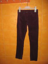 Manžestrové kalhoty/skinny-teplé,vel.140/146, lupilu,140