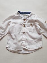 Bílá košile, h&m,68
