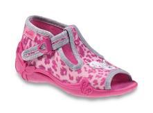 Dívčí bačkůrky, papučky befado,certifikovaná obuv, befado,25