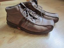 Dámské kožené zateplené boty, baťa,37