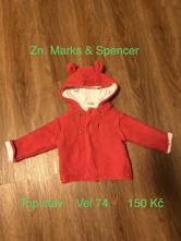 Teplý svetřík, marks & spencer,74