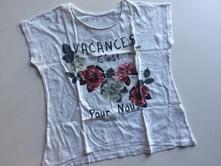 Dívčí triko č.168, c&a,146