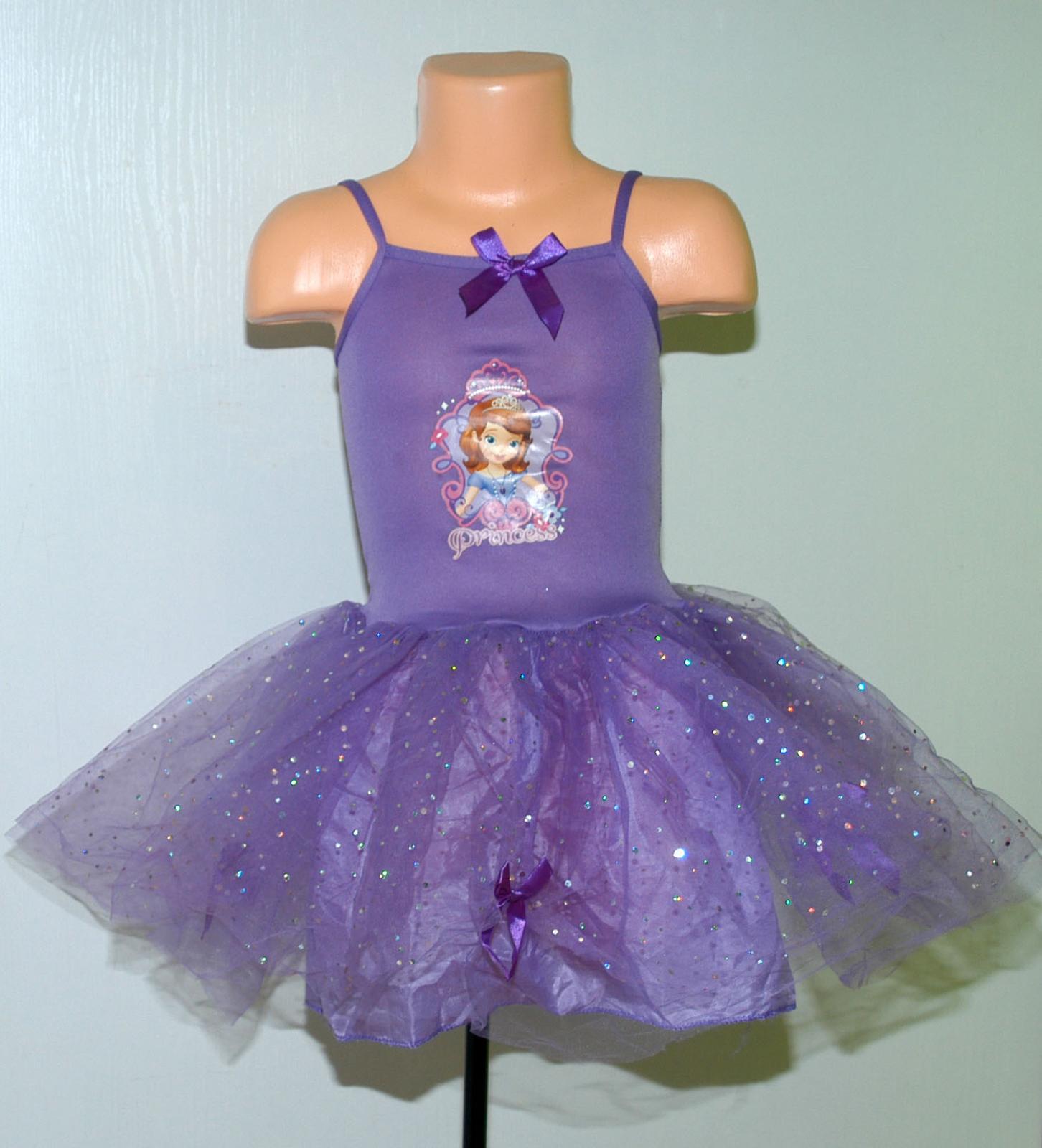 Karnevalové šaty pricezna sofia s tutu sukní 1f020b14d4