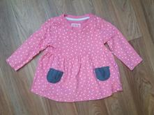 Šaty s puntíky 9-12 měsíců, young dimension,80