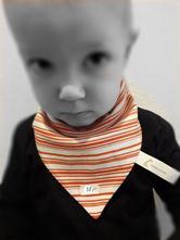 Originální oboustranný šátek / slintáček / šáteček,