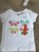 Tričko s motýlky, primark,104