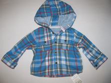 Frajerská košile s kapucí, mothercare,68