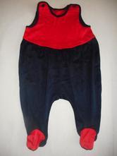 Dupačky červeno modré, 68