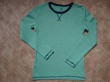 Zelené triko s dlouhým rukávem, h&m,122