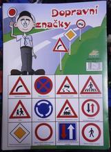 Pexeso - dopravní značky,