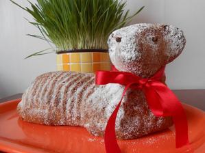 beránek - biskupský chlebíček