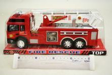 Auto hasiči na setrvačník,
