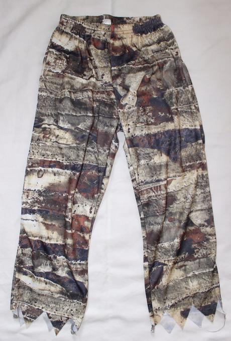 Be87. karnevalové kalhoty 5-6 let,