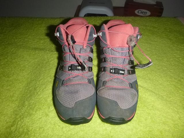 Goretexové kotníčkové outdoorové boty 414e7a42108