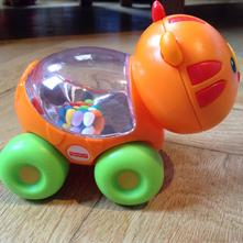 Tygřík s kuličkami fisher-price,
