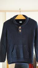 Teplý svetr s knoflíky stojáčkem/límečkem faf, f&f,116