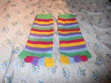 Prstové ponožky ,