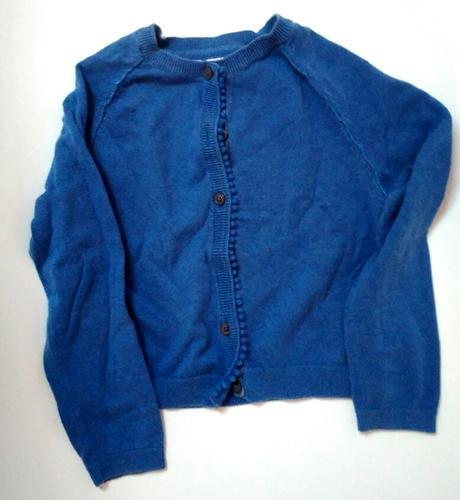 S100 - dívčí modrý svetr, next,116