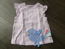 Tričko s ptáčkem, f&f,86