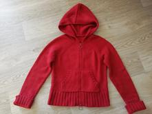 Pletený svetr s kapucí, 164