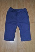 Modré džínové  kalhoty, f&f,68