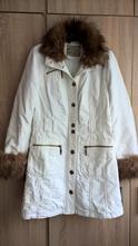 Bílý kabát s kožešinkou orsay, orsay,s