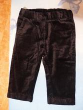 Dětské semišové/společenské kalhoty, h&m,86